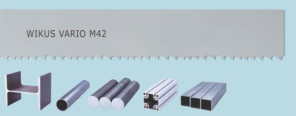 Bimetalický pilový pás Wikus Vario M42
